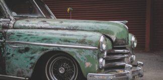 Grøn bil